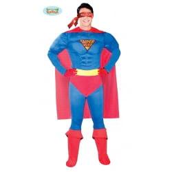 DISFRAZ SUPER HEROE ADULTO