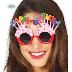 "GAFAS ""HAPPY BIRTHDAY"" ROSAS"